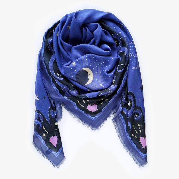 lechalebleu-modal-and-silk-scarf-beautiful-as-the-moon-twilight-folded