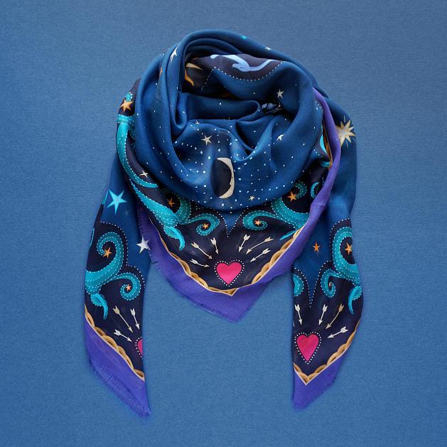 lechalebleu-modal-and-silk-scarf-beautiful-as-the-moon-warm-blue-folded2