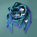 lechalebleu-modal-and-silk-scarf-treasure-hunters-green-folded2