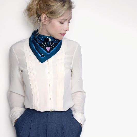 Model wearing