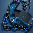 lechalebleu-silk-twill-bandana-beautiful-as-the-moon-blue-packaging