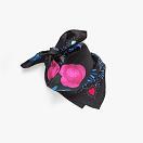 lechalebleu-silk-twill-bandana-panthere-black-folded