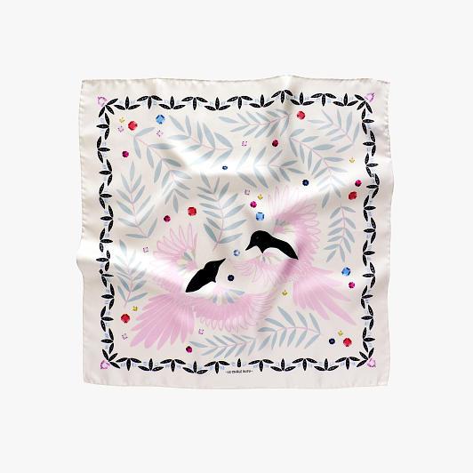 lechalebleu-silk-twill-bandana-treasure-hunters-off-white