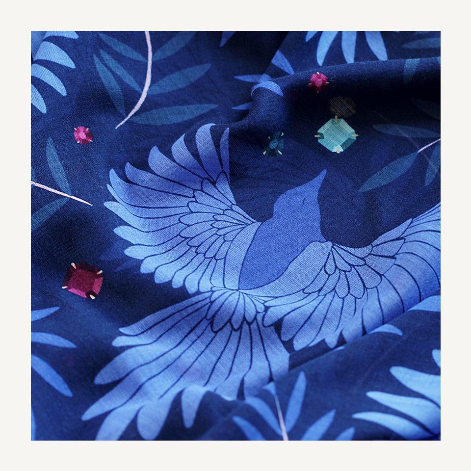 lechalebleu-cashmere-shawls-blue-magpies
