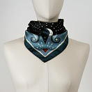 LE-CHALE-BLEU-silk-twill-bandana-beautiful-as-the-moon-black-2