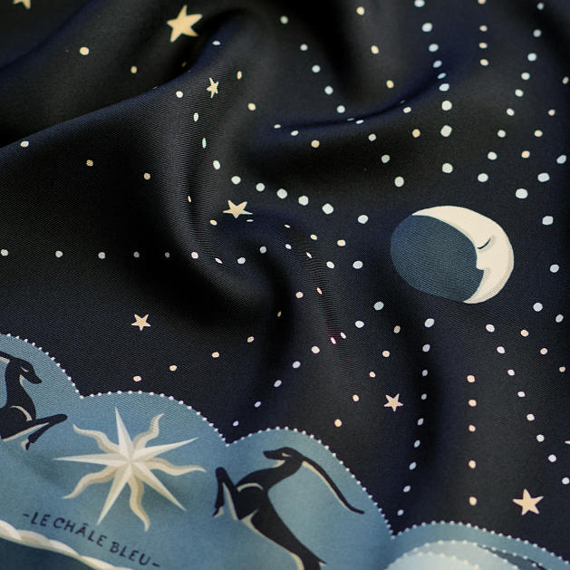 LE-CHALE-BLEU-silk-twill-bandana-beautiful-as-the-moon-black-4