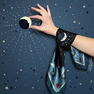 LE-CHALE-BLEU-silk-twill-bandana-beautiful-as-the-moon-black-5
