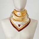 LE-CHALE-BLEU-silk-twill-bandana-bright-as-the-sun-orange-red-2