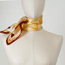 LE-CHALE-BLEU-silk-twill-bandana-bright-as-the-sun-orange-red-3