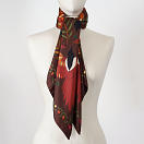 le-chale-bleu-silk-twill-scarf-magpies-chocolate-3