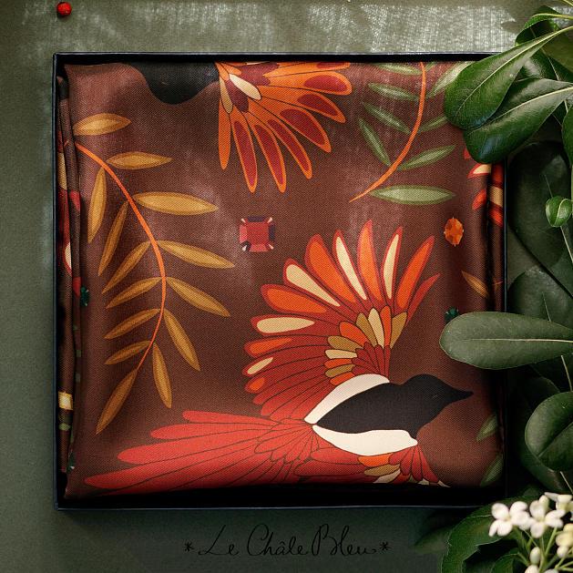 le-chale-bleu-silk-twill-scarf-magpies-chocolate-box