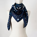 le-chale-bleu-silk-twill-scarf-magpies-summer-night-6