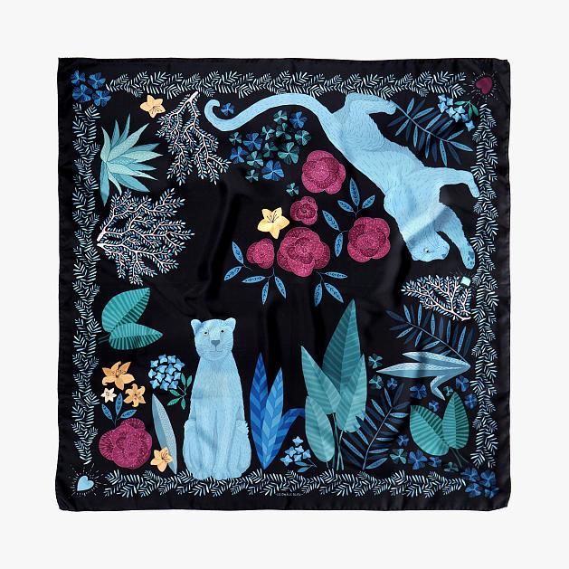 le-chale-bleu-silk-twill-scarf-panther-black-reedit-1