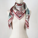 le-chale-bleu-silk-twill-scarf-panther-pink-wave-2