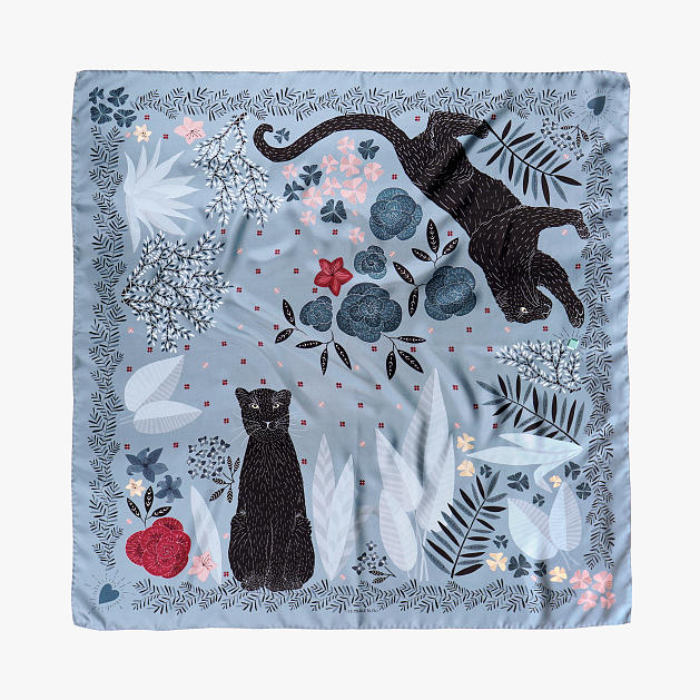 le-chale-bleu-silk-twill-scarf-panther-stormy-gray-1