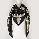 LE_CHALE_BLEU-wool-and-silk-triangle-shawl-magpies-anthracite-3