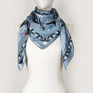 le-chale-bleu-silk-twill-scarf-magpies-paris-gray-3